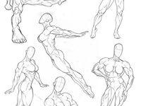 800 Muscular women Drawing ideas in 2021