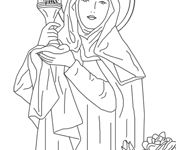 Faith Filled Coloring Pages and Worksheets