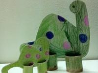 dinosaurs in kindergarden