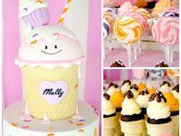 Sweet, Cupcake & Ice Cream Party