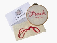 ...we are in love with cross stitch and embroidery. Quirky, cool, romantic, modern and creative. What is there not to love about embroidery?