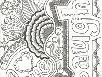 voorbeeld doodle/ handletter kaarten