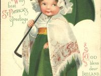Vintage St.Patrick Day postcards/ photos