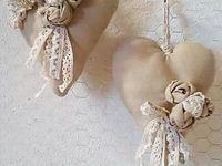 Crochet flowers and arrangement