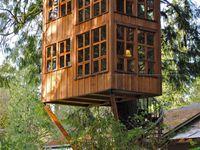 Tiny spaces & tree houses