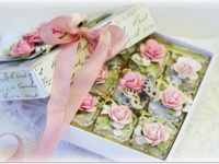 some really cool ideas to create - for 'wrapping' gifts or just about any use you want!