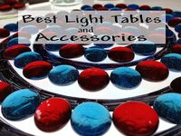 Light table products and play activities