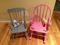 Painted children's furniture / Hand painted kids furniture