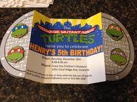 יום הולדת צבי נינג'ה