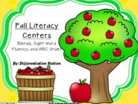 1st grade literacy centers
