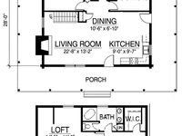 9 best images about 24x30 cabin floor plan on pinterest for 24x30 house plans