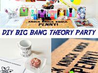 The Big Bang Theory Party Melting Rubik S Cube Brain Coasters And More