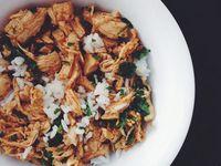 southwest chicken + cilantro lime rice