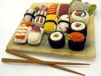 crochet patterns food