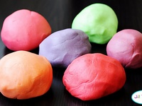 how to make playdough slime uk