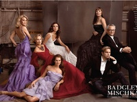 Badgley Mischka is an American fashion label designed by Mark Badgley and James Mischka. Badgley and Mischka met at Parsons School of Design in Manhattan, and found a common vision. The two launched the label Badgley Mischka in 1988, and their bridal business launched in 1993. Badgley and Mischka are partners in life as well as business. Their clothes have been worn by many celebrities, including Oprah Winfrey, Melissa Etheridge, and Tammy Lynn Michaels.