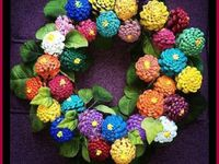 Pine Cones,Nuts,Nature Wreaths, Ornaments, Decor, etc.