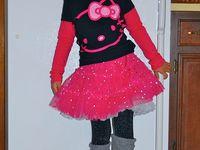 Hello Kitty Costume/Birthday Ideas