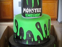 Monster energy cakes & templetes