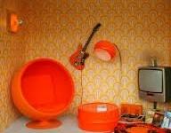 Seventies decor