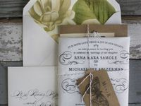 A selection  of the prettiest and most innovative wedding stationery we have come across.