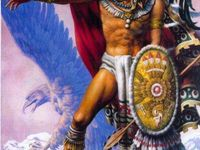 1000 images about mexican art work and murals on for Aztec mural tattoos