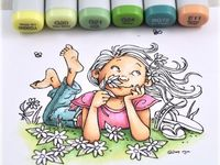 Copics and coloring