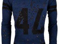 One Jumper Airborne Sweater Navy, Roberto Romero