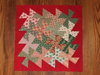 Twister quilts, small and large