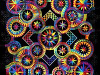 Quilts-Spirals, Circles, and Points Oh My!