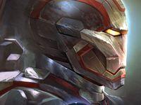 lego iron man war machine
