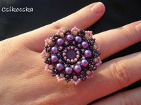 Bead patterns rings