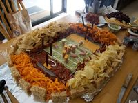 Food, Decor & other Ideas for Super Bowl parties, Tailgating & Sporting Events