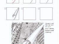 zentangle and Op Art