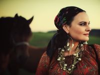 A blend of vintage gypsy, bohemian, middle eastern, and Moroccan wearable styles.