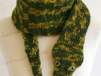 Snake Scarf Knitting Pattern : 17 best images about Knitted snake scarf patterns on Pinterest