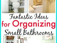 Bathroom Organization / A messy and disorganized bathroom is not just unpleasant to look at, but also very unhygienic. But with the bathroom organization tips that we'll share here with you, keeping your bathroom fresh, clean, and perfectly organized could be as easy as 1-2-3!