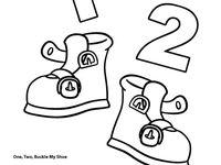 7 best images about prek k 1 2 buckle my shoe on for 1 2 buckle my shoe 3 4 shut the door