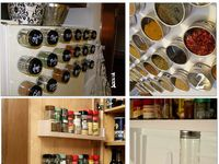 Spice rack solutions