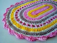 Crochet & Fabric - Rugs