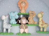 Porcelana fría / Cold porcelain / Masa flexible / Pasta francesa / Fimo / Polymer clay / Fondant figures