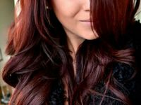 14 Best Mahogany Hair Color Images On Pinterest Hair