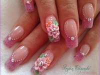 Flower Power Nails 2017