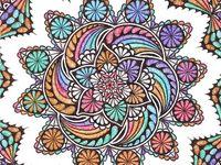 Art: Zentangle Colored