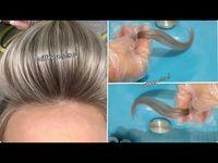 طريقة تفتيح الشعر الغامق بدون مراحل سحب لون بالصبغة فقط اشقر رمادي Youtube In 2021 Lockscreen