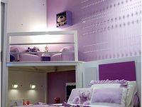 Purple Girl's Bedroom