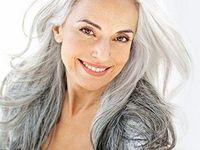 Long grey hair styles