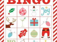Christmas B-I-N-G-O