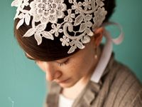 Beautiful wedding hair ideas using accessories.