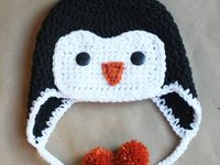 Crocheted children hats